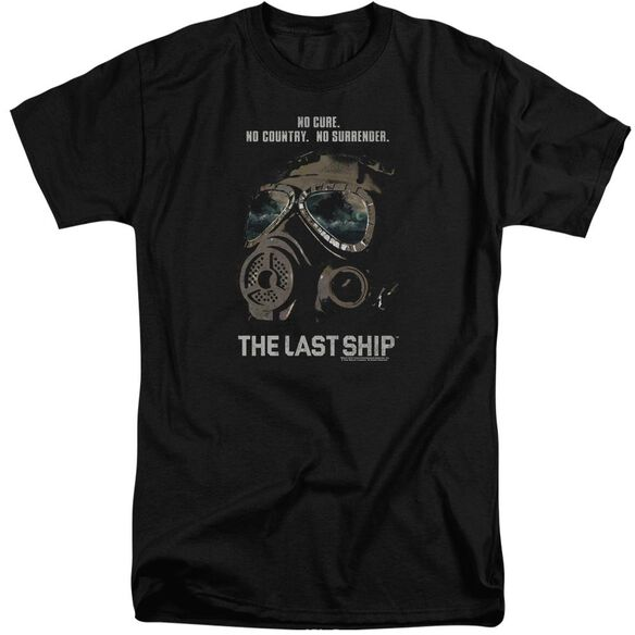 Last Ship Mask Short Sleeve Adult Tall T-Shirt