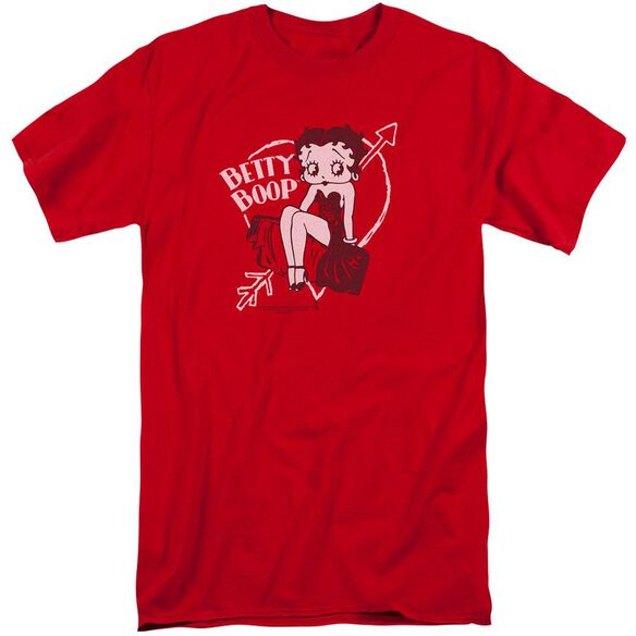 Betty Boop Lover Girl Short Sleeve Adult Tall T-Shirt