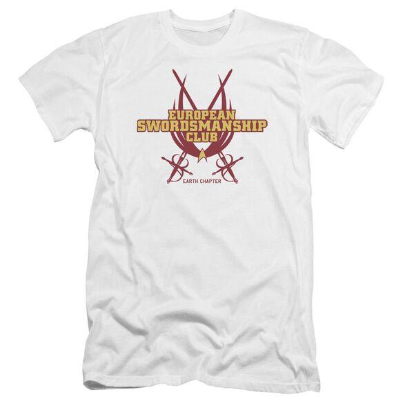Star Trek Swordsmanship Club-premuim Canvas Adult Slim