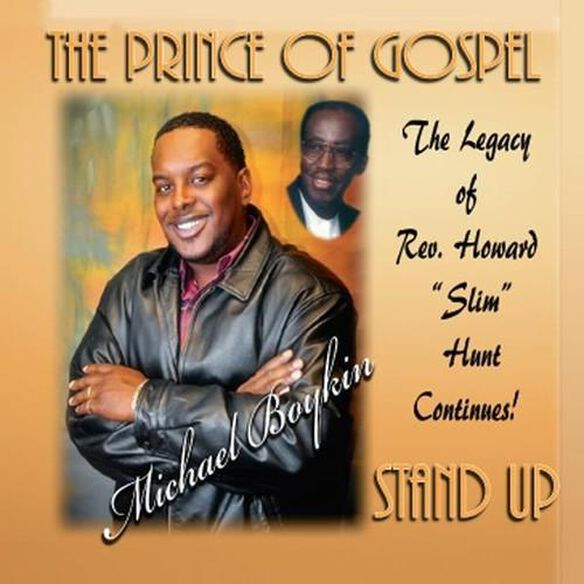 Michael Boykin Prince of Gospel - Stand Up