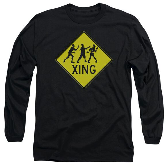 Zombie Xing Long Sleeve Adult T-Shirt