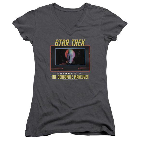 St Original The Corbomite Maneuver Junior V Neck T-Shirt