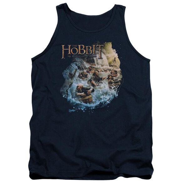 Hobbit Barreling Down Adult Tank
