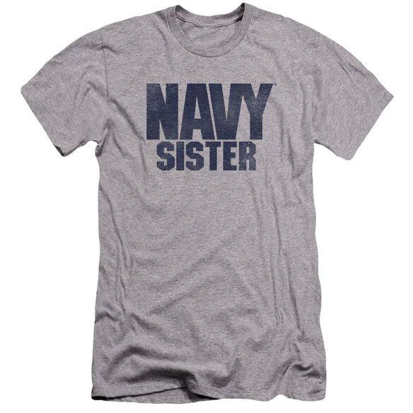 Navy Sister Premuim Canvas Adult Slim Fit Athletic