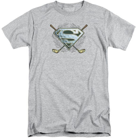 Superman Fore! Short Sleeve Adult Tall Athletic T-Shirt