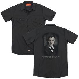 Gotham Cobblepot(Back Print) Adult Work Shirt