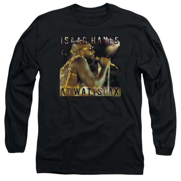 Isaac Hayes At Wattstax Long Sleeve Adult T-Shirt