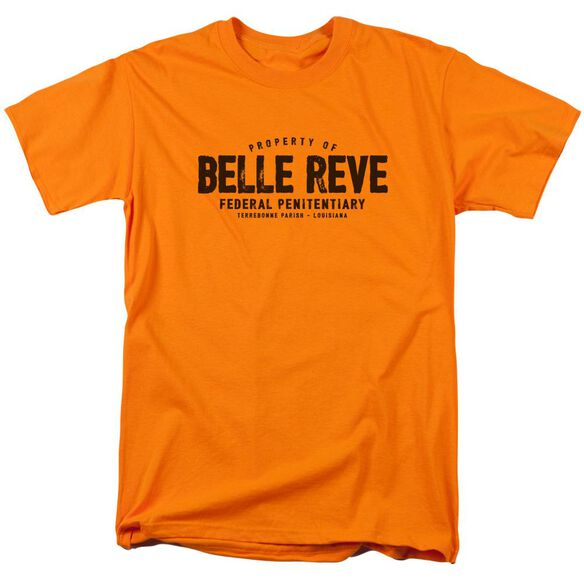 Batman Belle Reve Short Sleeve Adult Orange T-Shirt