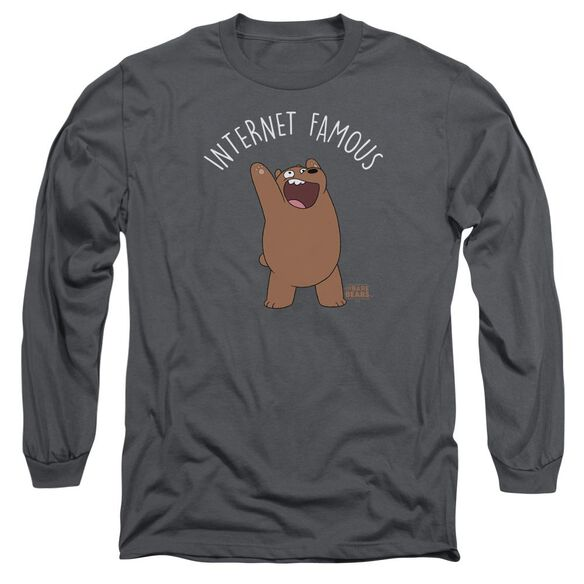 We Bare Bears Internet Famous Long Sleeve Adult T-Shirt