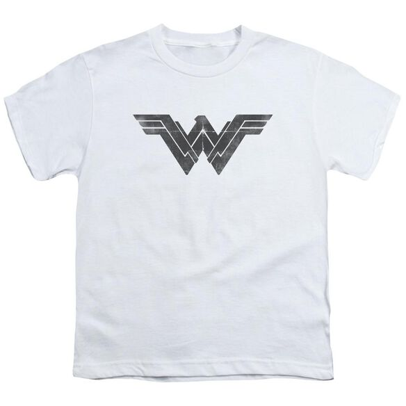 Batman V Superman Folded And Distressed Short Sleeve Youth T-Shirt