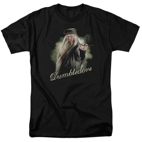 Harry Potter Dumbledore Wand Short Sleeve Adult T-Shirt