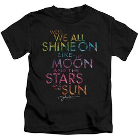 John Lennon All Shine On Short Sleeve Juvenile T-Shirt