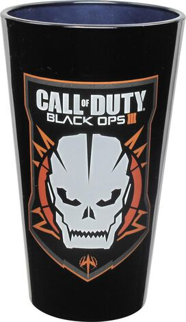 Call of Duty Black Ops 3 Skull Pint Glass Set