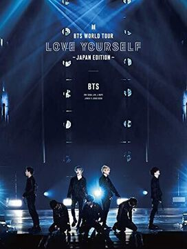 BTS World Tour 'Love Yourself' (Japan Edition) (3 Blu-ray Set - incl. 24pg Booklet + 7 Photocards)