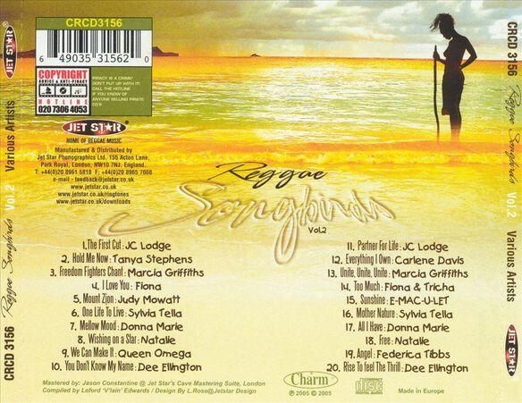 Reggae Songbirds V2 0905