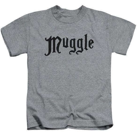 Harry Potter Muggle Short Sleeve Juvenile Athletic T-Shirt