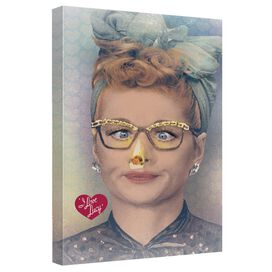 I Love Lucy Oh Nose Quickpro Artwrap Back Board