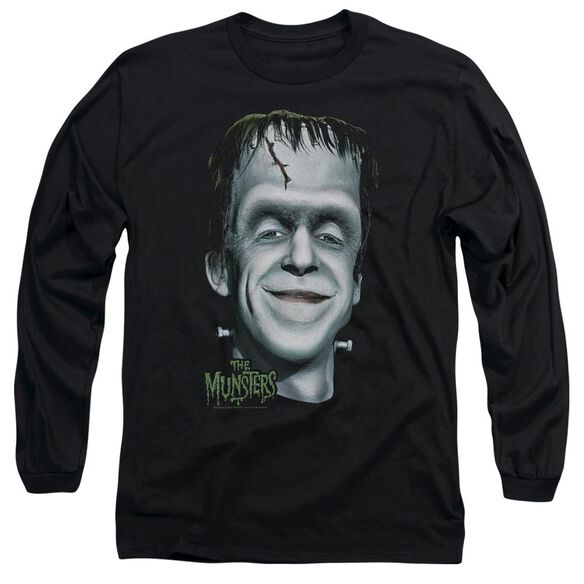 The Munsters Hermans Head Long Sleeve Adult T-Shirt