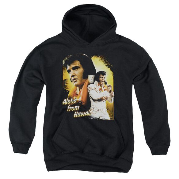 Elvis Aloha Youth Pull Over Hoodie