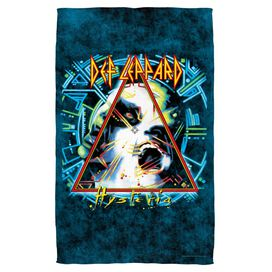Def Leppard Hysteria Cover Golf Towel White Face