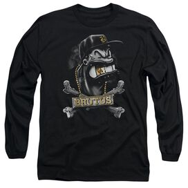 Popeye Brutus Long Sleeve Adult T-Shirt