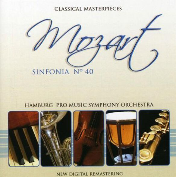 Mozart: Sinfonia No 40 (Arg)