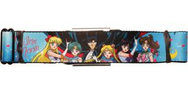 Sailor Moon Group Wrap Seatbelt Belt