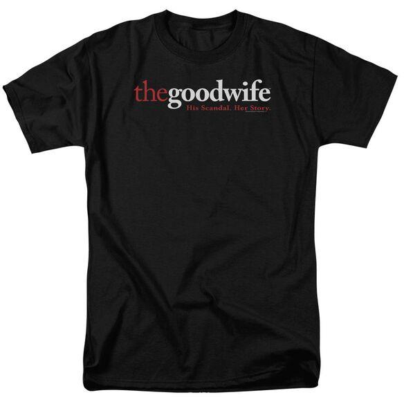 The Good Wife Logo Short Sleeve Adult T-Shirt