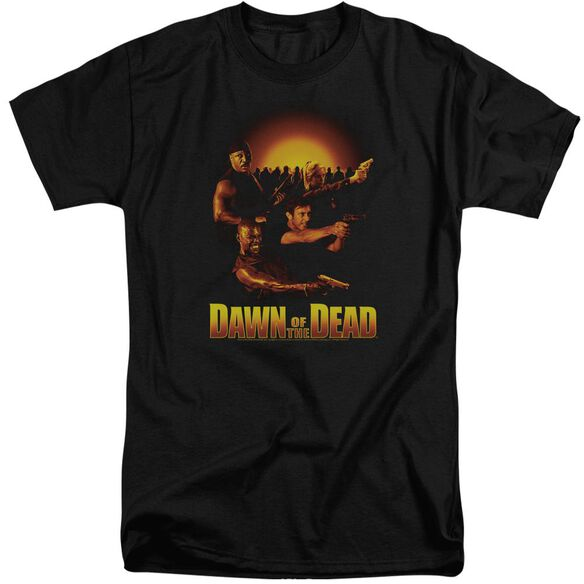 Dawn Of The Dead Dawn Collage Short Sleeve Adult Tall T-Shirt
