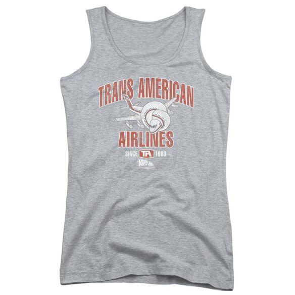 Airplane Trans American Juniors Tank Top Athletic