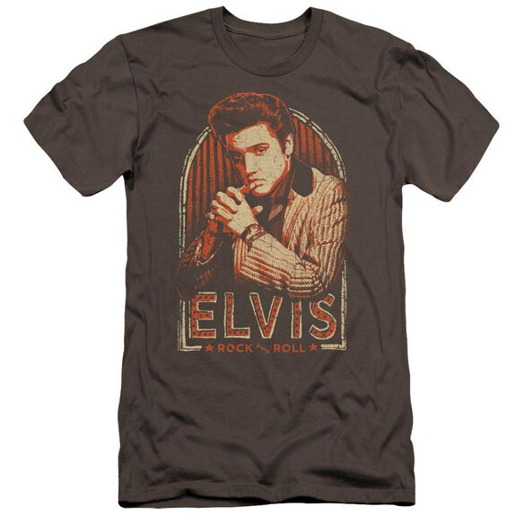 Elvis Stripes Hbo Short Sleeve Adult T-Shirt