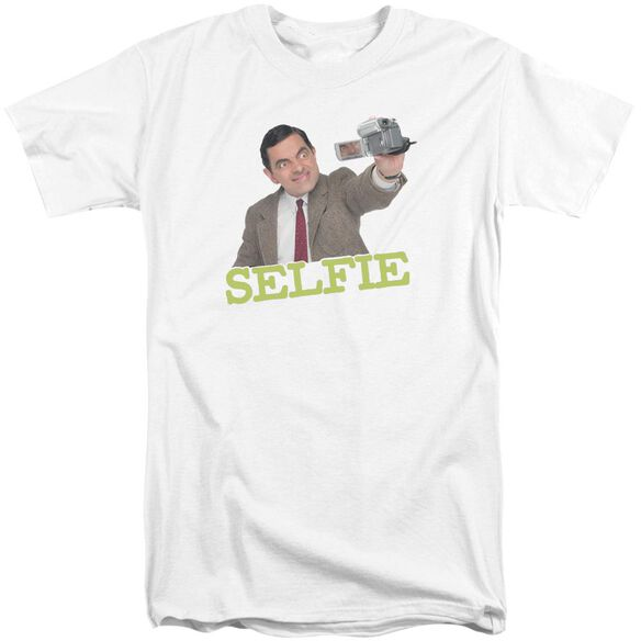 Mr Bean Selfie Short Sleeve Adult Tall T-Shirt