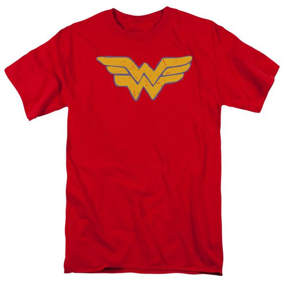 Jla Rough Wonder Short Sleeve Adult T-Shirt