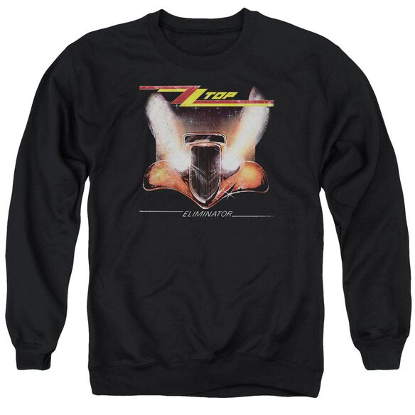 Zz Top Eliminator Cover Adult Crewneck Sweatshirt