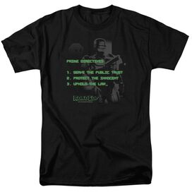 Robocop Prime Directives Short Sleeve Adult T-Shirt