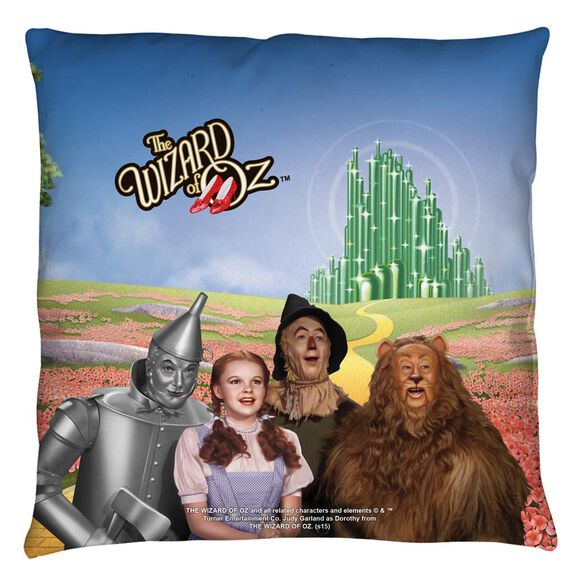 Wizard Of Oz Emerald City Throw