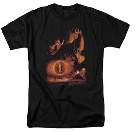 Lor Destroy The Ring Short Sleeve Adult Black T-Shirt