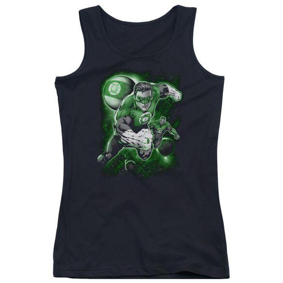 Green Lantern Lantern Planet Juniors Tank Top