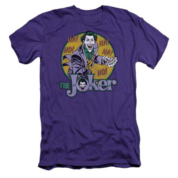 Dc The Joker Short Sleeve Adult T-Shirt