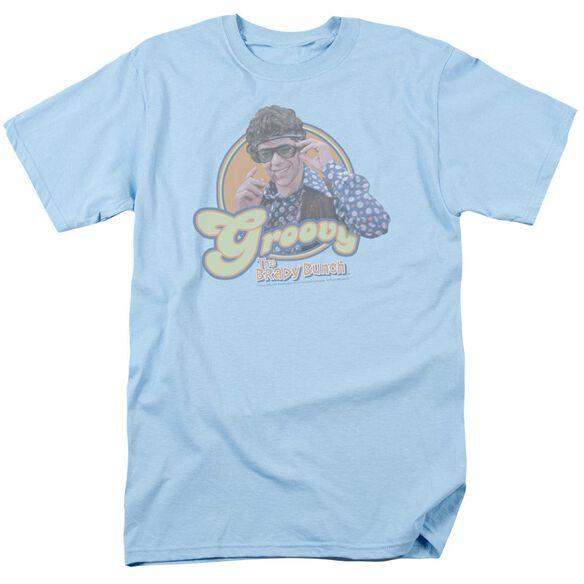 BRADY BUNCH GROOVY GREG - S/S ADULT 18/1 - LIGHT BLUE T-Shirt