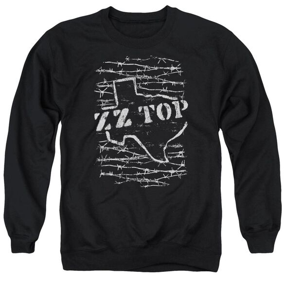 Zz Top Barbed Adult Crewneck Sweatshirt