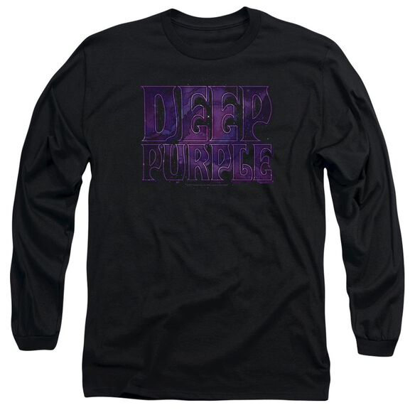 Deep Purple Spacey Long Sleeve Adult T-Shirt