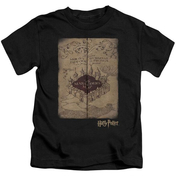 Harry Potter Marauders Map Short Sleeve Juvenile T-Shirt