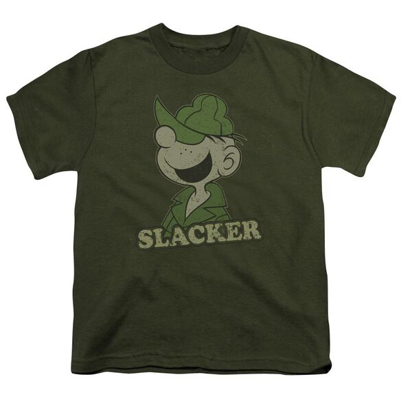 Beetle Bailey Slacker Short Sleeve Youth Military T-Shirt