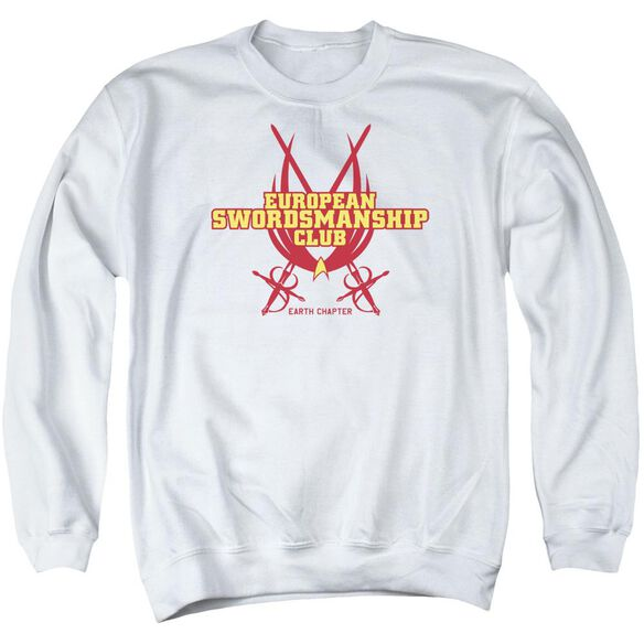 Star Trek Swordsmanship Club Adult Crewneck Sweatshirt