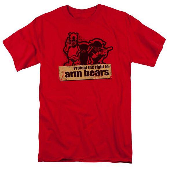 Arm Bears Short Sleeve Adult T-Shirt