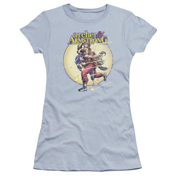 Archer & Armstrong Vintage A & A Premium Bella Junior Sheer Jersey Light