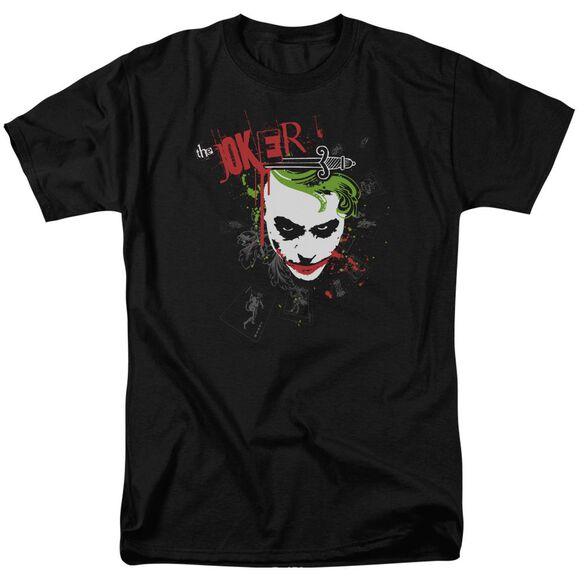 Dark Knight Cards & Deck Short Sleeve Adult T-Shirt
