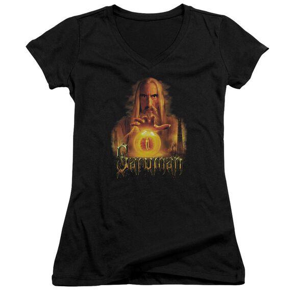 Lor Saruman Junior V Neck T-Shirt