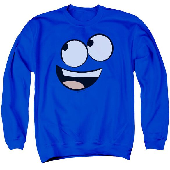 Foster'S Face Adult Crewneck Sweatshirt Royal